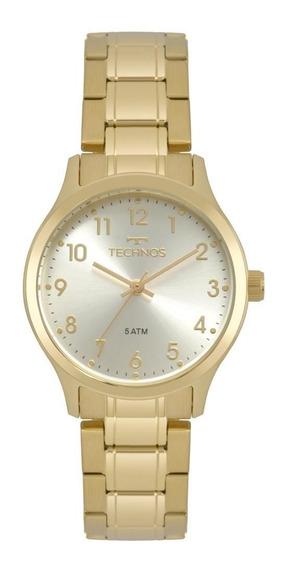 Relógio Feminino Technos 2035mpf/4k Dourado