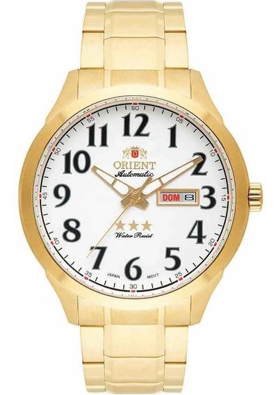 Relógio Orient Automático 469gp074 Branco