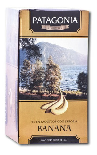 Te Patagonia Premium X 20 Saq. Banana