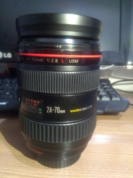 Lente Canon 24 70 2.8