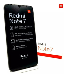 Redmi Note 7 4ram 64 Gb + Vidrio Templado
