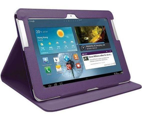 Case Samsung Galaxy Note 10,1 Gt-n8000 N8010 N8020 Roxo