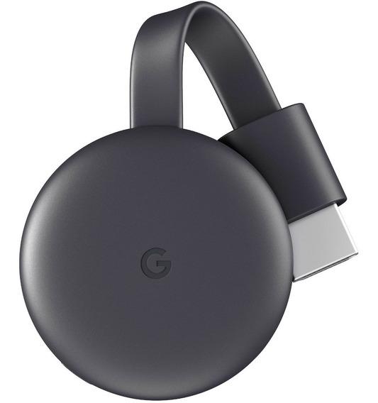 Google Chromecast 3 Geração 2019 Original Hdmi Full Hd