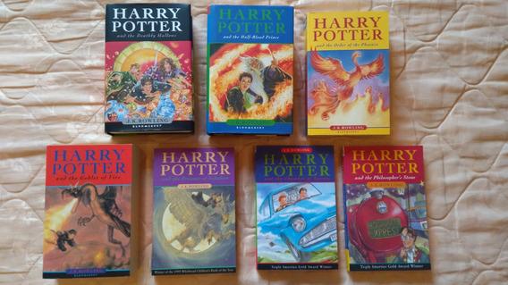 Livro Coleção Harry Potter (inglês 7 Livros Capas Originais)