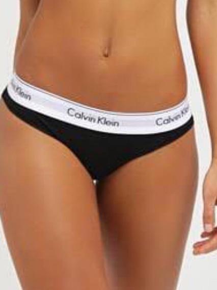5 Pz Calzon Tanga Bóxer Calvin Klein