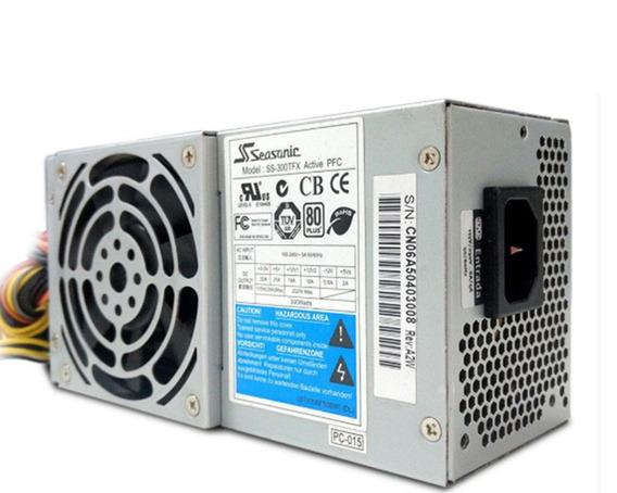 Fonte Slim Seasonic Ss-300 Tfx Pfc 80-plus 300w + Garantia
