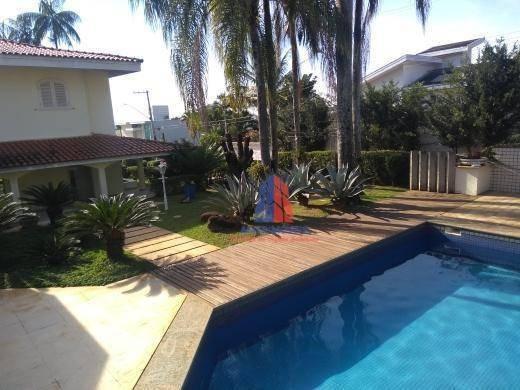 Casa Com 3 Dormitórios À Venda, 597 M² Por R$ 3.500.000 - Condomínio Residencial Iate Clube Americana - Ca1035