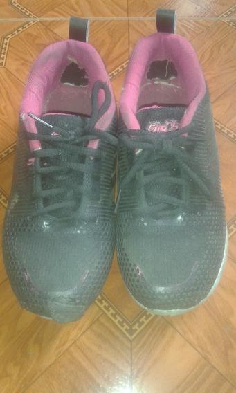 Zapatos Deportivos Negros Talla 34 Usados