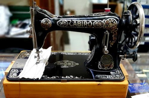 Cabiro 15-30 Maquina De Coser Familiar Costura Recta Negrita