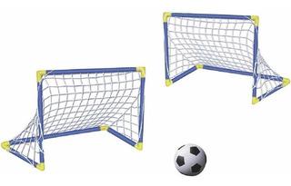 Porteria De Futbol Mytek 5576 De Plastico
