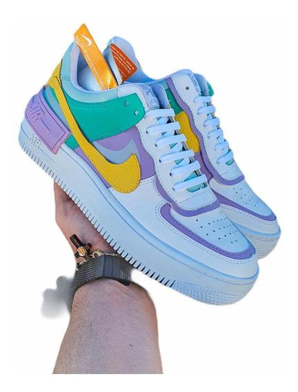Tênis Nike Airforce 1 Shadow Feminino Estilo Gringo Top