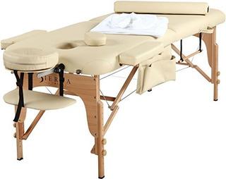 Sierra Comfort All Inclusive Mesa De Masaje Portátil Crema
