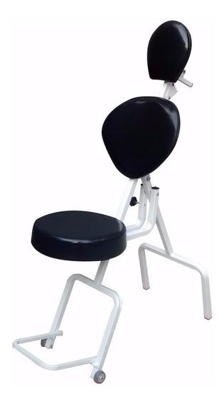 Cadeira De Maquiagem Portátil Poltrona Limpeza De Pele