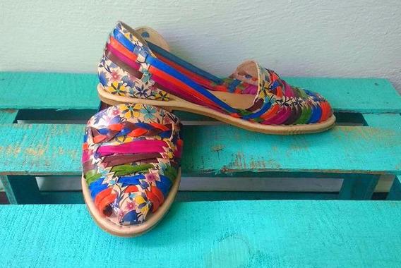 Zapato Flat Artesanal Para Dama