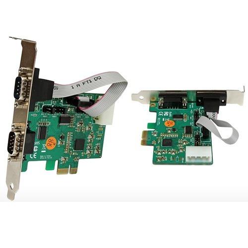 Tarjeta Pci Express Serial 2 Dp9 Puesto Para Impresora Fiscl