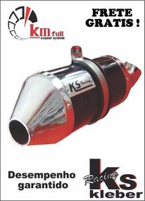Escapamento Ks Racing + Curva Bros 150 160 Klebão Dor