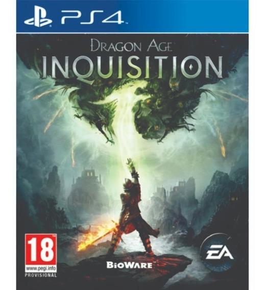 Dragon Age Inquisition Ps4 Novo Lacrado Midia Fisica