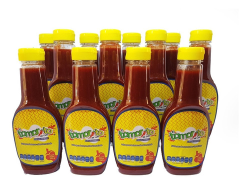 Caja Con 12 Botellas De 290 Gr De Tamarito. Chamoy Tamarindo