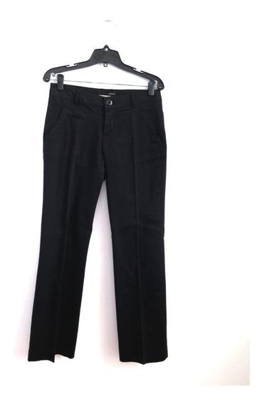 Pantalon Desiderata Gabardina Negra Talle M