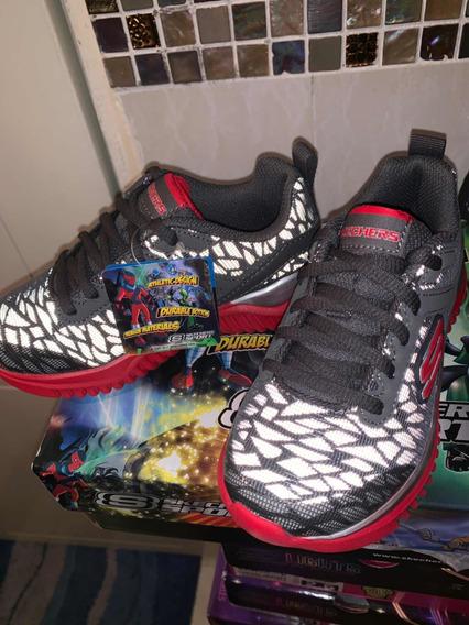 Zapatos Deportivos Skechers Niño Original Talla 28