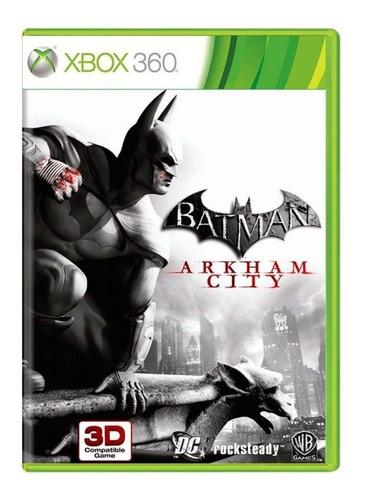 Batman Arkham City Xbox 360 Mídia Física Usado