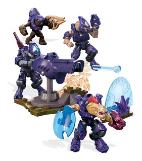 Mega Construx Playset Halo Equipo De Combate Covenant