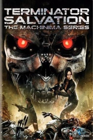 Filme Dvd O Exterminador Do Futuro A Série Machinima