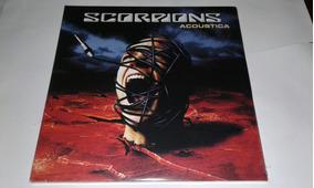 Lp Scorpions Acoustica Vinil Duplo Eu