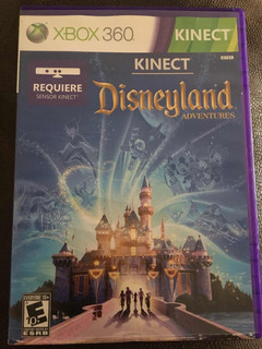 Videojuego Kinect Disneyland Adventures Para Xbox 360