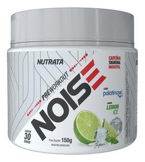 Noise Pre Workout Sabor Lemon Ice (150g) - Nutrata
