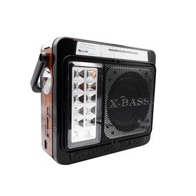 Radio Com Bluetooth Retro Estilo Madeira Am Fm Usb Sd 4 Band