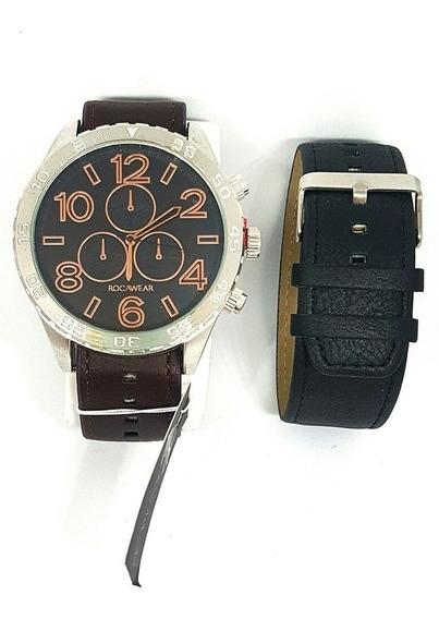 Reloj Rocawear Nuevo Original Caballero Más Un Extensible