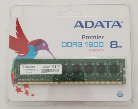 Memoria 8 Gb Ddr3 1600 Mhz Adata Premier