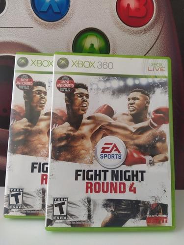 Fight Night Round 4 Xbox 360 Original Físico Usado