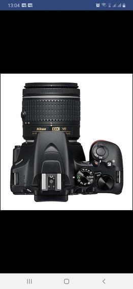 Câmera Digital Nikon D3500 Dslr Com Lente 18-55mm.