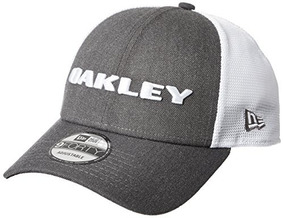 Gorra Oakley Heather New Era Hat, Grafito, Talla Única