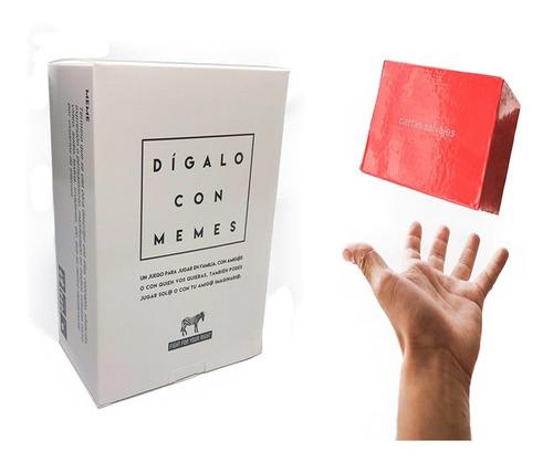 Imagen 1 de 7 de Dígalo Con Memes Cartas Salvajes Rojo Fight Juego Cartas
