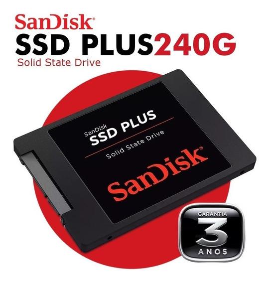 Hd 2,5 Ssd Plus Sandisk 240gb 530mb/s Sata 3 6gb/s G26