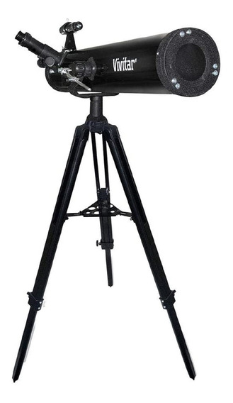 Telescópio Refletor Com Lente 76 Mm - Vivitar - Vivtel76700