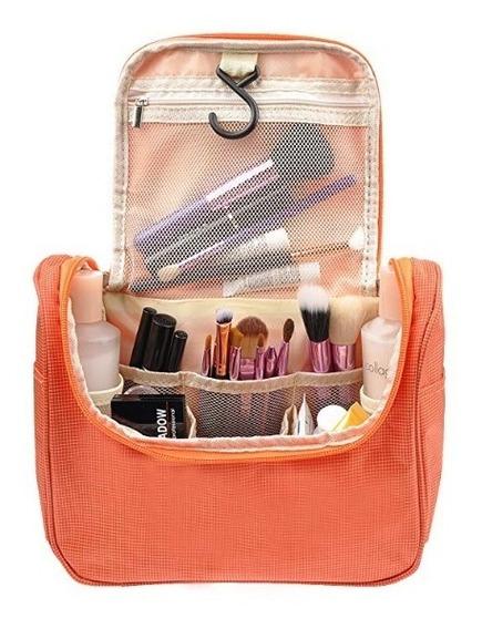 Bolsa Para Cosmeticos Color Naranja Vercord