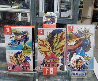 Pokémon Escudo Y Espada Nintendo Switch Físico Nuevo Local