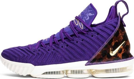 Tênis Nike Lebron 16 King Court Purple - Violeta