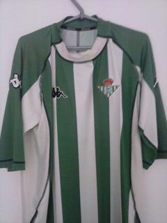 Camisa Do Real Betis Original Do Denilsom Show De 1998.