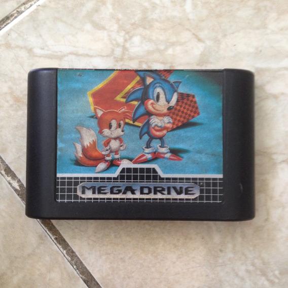 Fita Mega Drive Sonic The Hedgehog 2