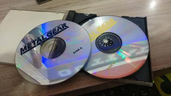 Metal Gear Solid Playstation 1 Prensado