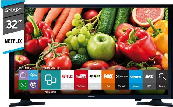 Smart Tv 32 Samsung Hd Tda Netflix Modo Futbol