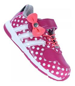 Tênis adidas Infantil Disney Minie Mouse Cf I Novo 1magnus