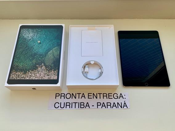 iPad Pro 10.5 512gb Wifi + Celular Cinza Espacial. Completo.