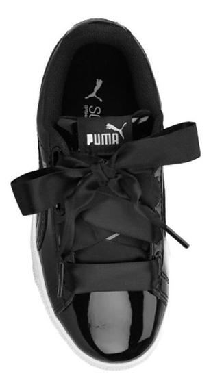 Zapatilla Puma Vikky Platform Ribbon Infantil
