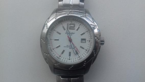 Relógio De Pulso Masculino Condor Kc20583bs - Aço